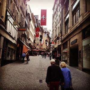 Place St. Français, Lausanne, Switzerland
