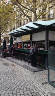 Café in Lausanne, Switzerland. My home away from home.