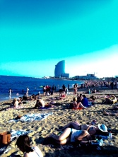 Beachside Barcelona